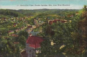 Birds Eye View Eureka Springs Arkansas