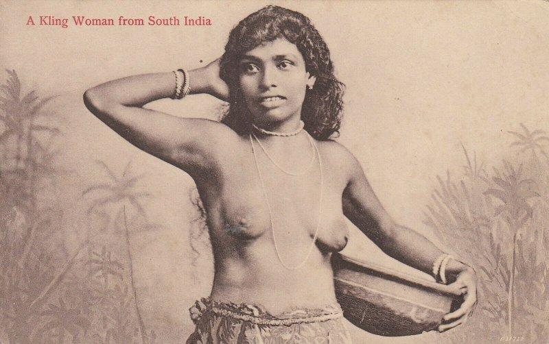 A Kling woman, South India , 1900-10s