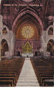 Rhode Island Providence Interior Of The Cathedral
