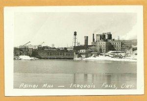 RP: IROQUOIS FALLS , Ontario , Canada , PU-1952; Abitibi Mill
