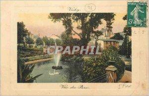 Postcard Old Vichy Park View