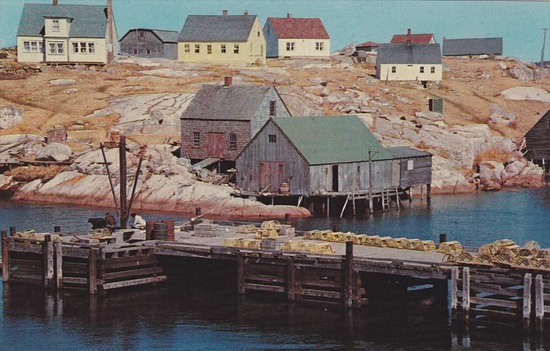Peggy's Cove , Nova Scotia , Canada , 50-60s