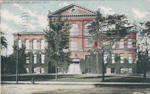 DETROIT, Michigan, PU-1912; Western High School