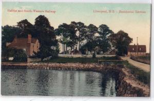 Halifax & S W Railway, Liverpool NS
