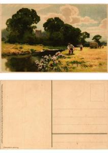 CPA Der Ernte Last und Freude Meissner & Buch Litho Serie 1522 (730401)