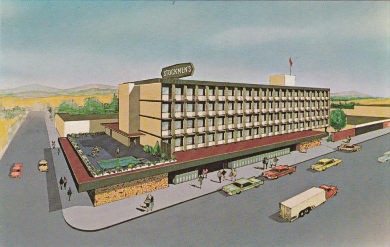 Stockman's Motor Hotel , KAMLOOPS , B.C. , Canada ,1950-60s