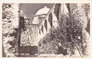 Mission San Jose San Antonio Texas Real Photo