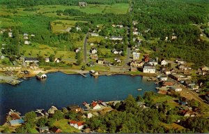 Maine Greenville Aerial View