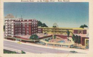 RENO , Nevada , 1952 , Riverside Hotel