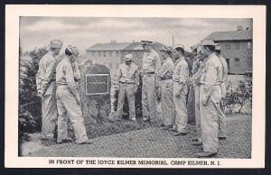 Joyce Kilmer Memorial Camp Kilmer New Jersey unused c1942