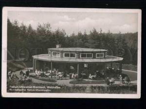 213655 GERMANY Radium mineral bath brambach Vintage postcard