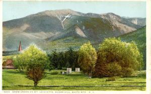 NH - Sugar Hill. Mt Lafayette, Snow Cross