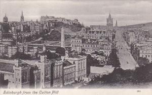 Scotland Edinburgh From The Calton Hill
