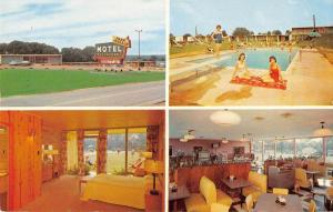 Fulton Kentucky Park Terrace Motel Multiview Vintage Postcard K80857