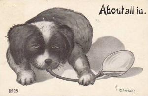 Fred Cavally Dog Series About all in 1910