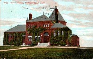 Massachusetts Somerville Public Library 1907