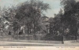 Governor's Mansion, SPRINGFIELD, Illinois, 1900-1910s