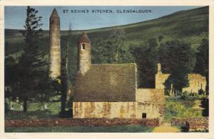 St Kevin´s Kitchen, Glendalough, Ireland, 1960 PU