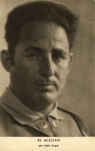 Spanish Civil War, Moroccan General Mohamed ben Mizzian (1939)