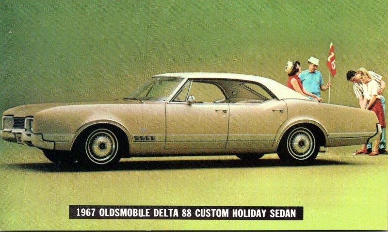 1967 Oldsmobile Delta 88 Custom Holiday Sedan