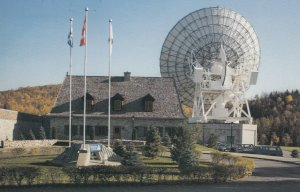 WIER, Quebec, Canada, PU-1989; Laurentides Earth Station