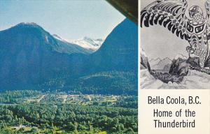 Canada Aerial View Bella Coola British Columbia
