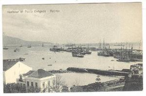 Sailboats, Harbour Of Ponta Delgada, Azores, Portugal, 1900-1910s