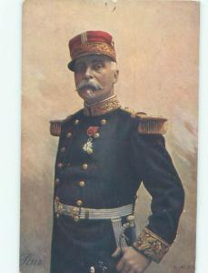 Circa 1915 Military FRENCH WWI MILITARY OFFICER IN FRANCE AC3208