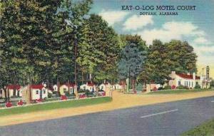Alabama Dothan Kat-O-Log Motel Court