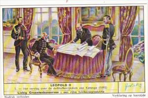 Liebig s1714 Leopold II No 5 Het verslag over de delfstoffenrijkdom van Katan...
