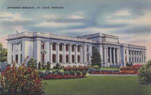 Jefferson Memorial, St. Louis, Missouri, 1930-1940s