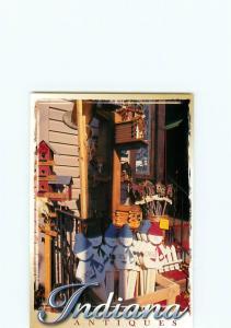 Vintage Postcard Indiana Antiques  # 3192