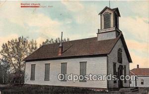 Churches Vintage Postcard Edgar, Neb, USA Vintage Postcard Baptist Church
