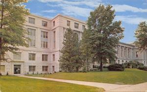 Columbia Missouri~University Of Missouri~Library~1960s Postcard
