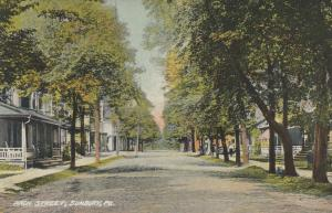 SUNBURY ,Pennsylvania , 1900-10s ; Arch Street