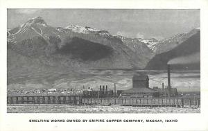 W/B Smelting Works Owned by Empire Copper Company Mackay ID