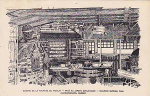 Cuisine de la Tournes du Moulin,Face au Jardin Zoologique, Charlesbourg, Queb...