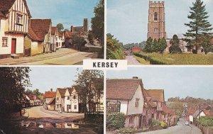KERSEY, Suffolk, England, PU-1965; 4-Views