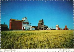 Grain Elevators Pioneer Canadian Prairies c1983 Postcard D59 *As Is
