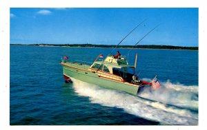 MA - Cape Cod. Sport Fishing Boat