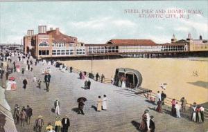 New Jersey Atlantic City Steel Pier And Board Walk