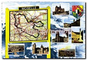 Postcard Modern Moselle dpartement