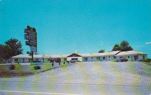 North Carolina Creedmoor Lakeside Motel 1964