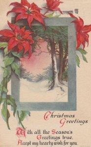 CHRISTMAS Winter Scene , 1900-10s ; Clapsaddle