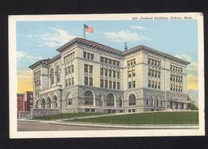 HELENA MONTANA UNITED STATES POST OFFICE VINTAGE POSTCARD U.S. MONT.