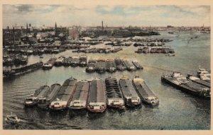 ROTTERDAM , Netherlands , 1955 ; Harbour