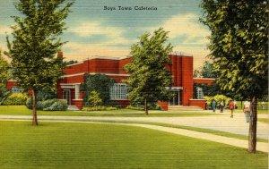 NE - Boys Town. Cafeteria