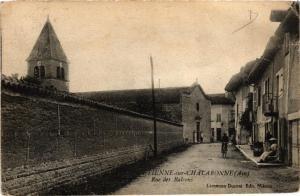 CPA St-Etienne s Chalaronne Rue des Balcons (684507)