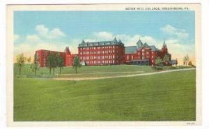 Seton Hill College, Greensburg, Pennsylvania, 30-40s