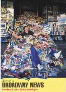 Steve's Broadway News Stand , SEATTLE , Washington , 70-80s
